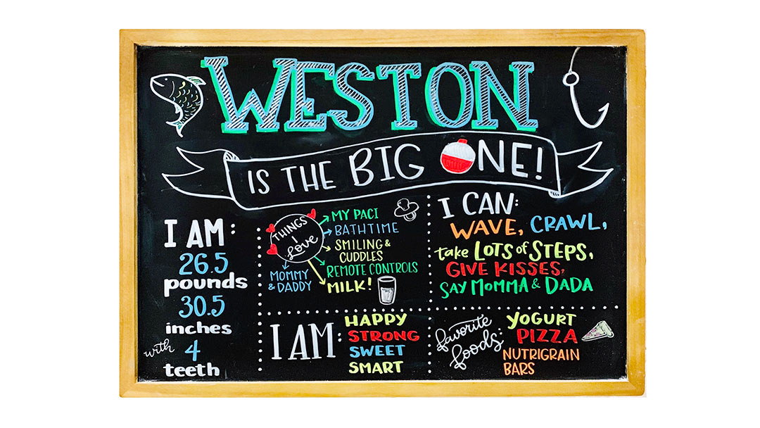 Baby Chalkboard Ideas Featured Image