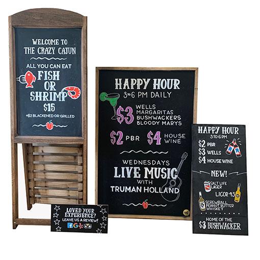 Restaurant Sign Collection Crazy Cajun