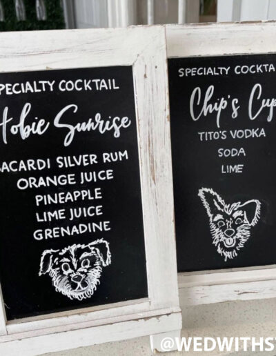 Sumlin Wedding - Specialty Drinks