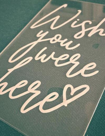 Sumlin Wedding - Wish you were Here